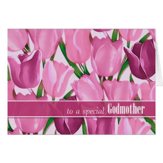 For Godmother on Mother's Day Greeting Cards