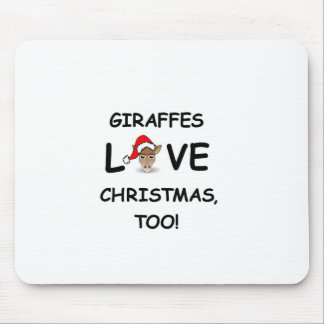For the GIRAFFE collector for Christmas! Mouse Pad