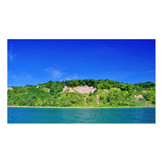 Forest Cliffs by the Lake Pack Of Standard Business Cards
