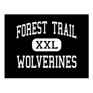 Forest Trail - Wolverines - Junior - Park Forest Postcard