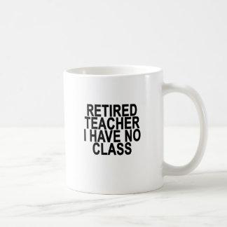 Former Retired Teacher Light T-Shirt.png Basic White Mug