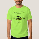 Four Forces of Flight Aviation Humour Shirt