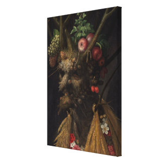 Four Seasons in the One Head, c.1590 2 Stretched Canvas Prints