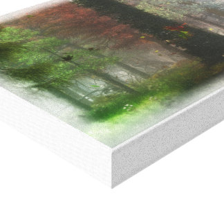 Four Seasons Stretched Canvas Prints