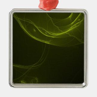 fractal-128-ut Silver-Colored square decoration
