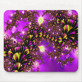 Fractal Purple Stairway to Heaven Mouse Pad