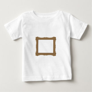 Frame in Brown Baby Tee Shirt