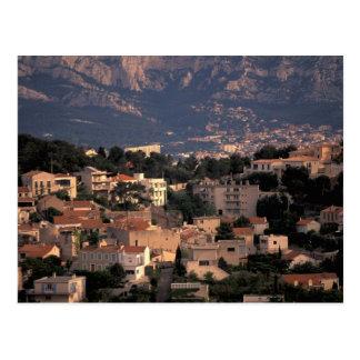 France, Marseille, Provence. Southern suburbs Postcard