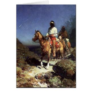 Frank Tenney Johnson Western Art Greeting Card