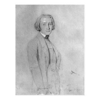 Franz Liszt  Rome, 29th May 1839 Postcard