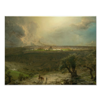 Frederic Edwin Church - Jerusalem from the Mount Photo