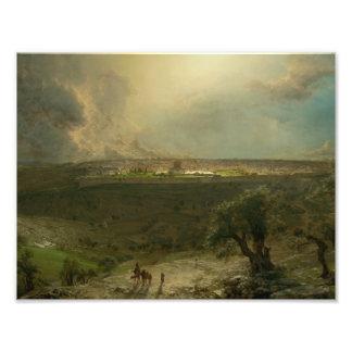 Frederic Edwin Church - Jerusalem from the Mount Photo Art