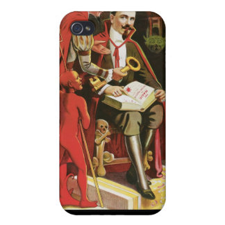 Fredrik The Great ~ Vintage Magic Act Case For The iPhone 4