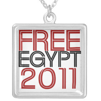 Free Egypt Square Pendant Necklace