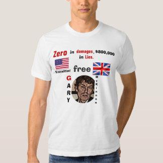 Free Gary Mckinnon, Zero in damages T Shirt
