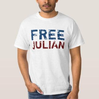 Free Julian Assange Tees