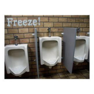 Freeze! Poster