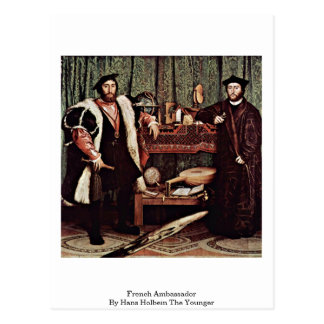 French Ambassador By Hans Holbein The Younger Postcard