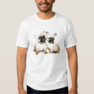 French Bulldog art T-shirt
