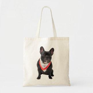 French Bulldog,  dog cute beautiful photo, gift Budget Tote Bag