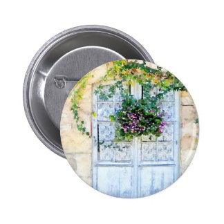 French Doors 6 Cm Round Badge