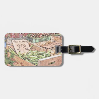 French Farmers Market Bag Tag