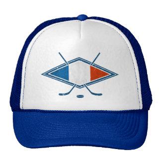 French Hockey Flag Mesh Hat