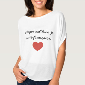 French quote t-shirt