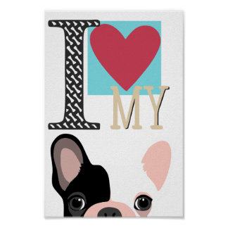 Frenchie Lover Poster