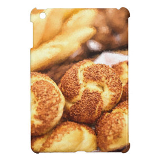 Fresh baked bread iPad mini covers