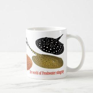 Freshwater Amazon Stingrays Basic White Mug
