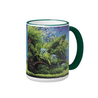 Freshwater Angel Fish Ringer Mug