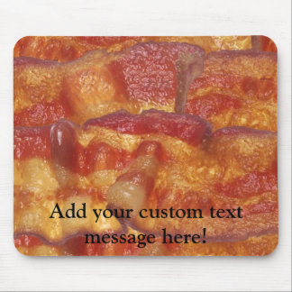 Fried Bacon Strip Mouse Pad