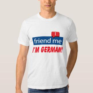 friend me I'm German T-shirt
