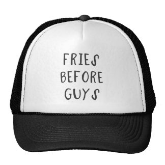 Fries before guys cap