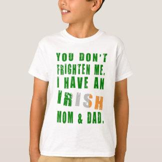 Frighten Irish Mom and Dad Tshirt