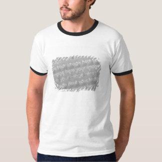 Fringe Border Design Effect Tshirt