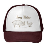 Frog Holler Trucker Hat (Pig & Chick)