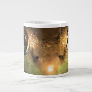 frog up close jumbo mug