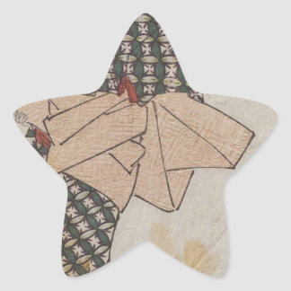 from an untitled series of beauties Keisai Eisen Star Sticker