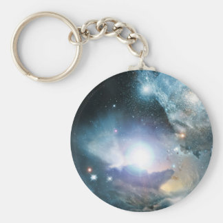 From the Ashes of the First Stars Basic Round Button Key Ring