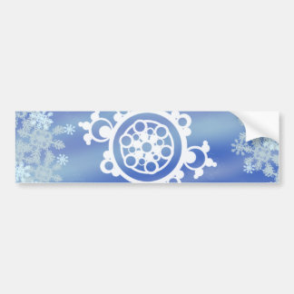 Frosted Edges I Bumper Sticker