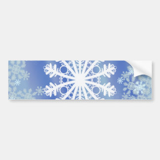 Frosted Edges III Bumper Sticker