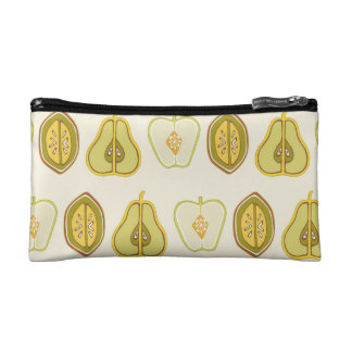 Fruit Design Apples Pears Avocados Kitchen Gifts Cosmetic Bag