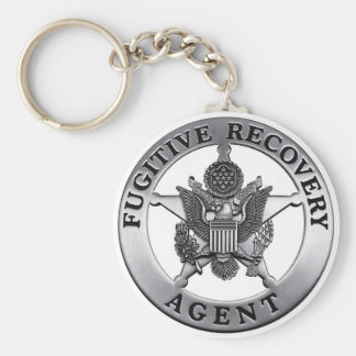 FUGITIVE RECOVERY AGENT KEYCHAIN