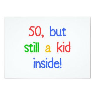 Fun 50th Birthday Humor 13 Cm X 18 Cm Invitation Card