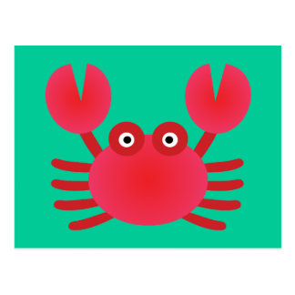 Fun Crab Postcard