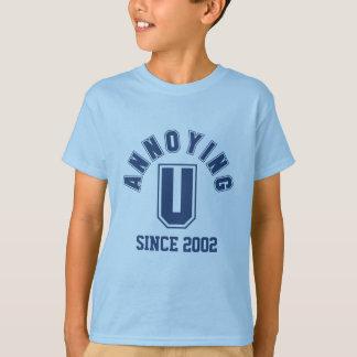 Funny Annoying You Boy Tee, Blue Tshirt