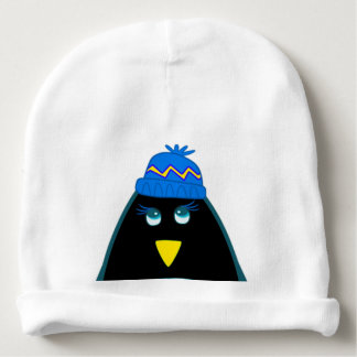 Funny Baby Boy Penguin Christmas Infant Hats Baby Beanie