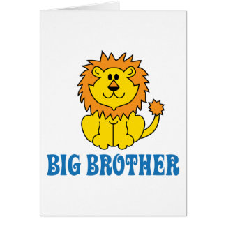Funny Big Brother Greeting Card